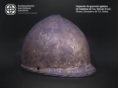 Capacete / Casco de Guerreiro Galaico de Caldelas de Tui