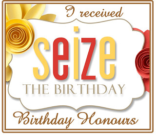 Seize The Birthday - Honourable Mention