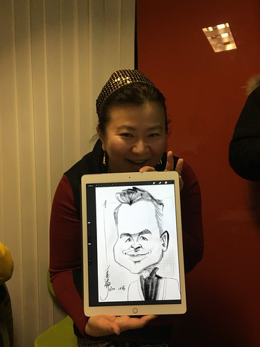Sketches in Seoul Fun Caricatures