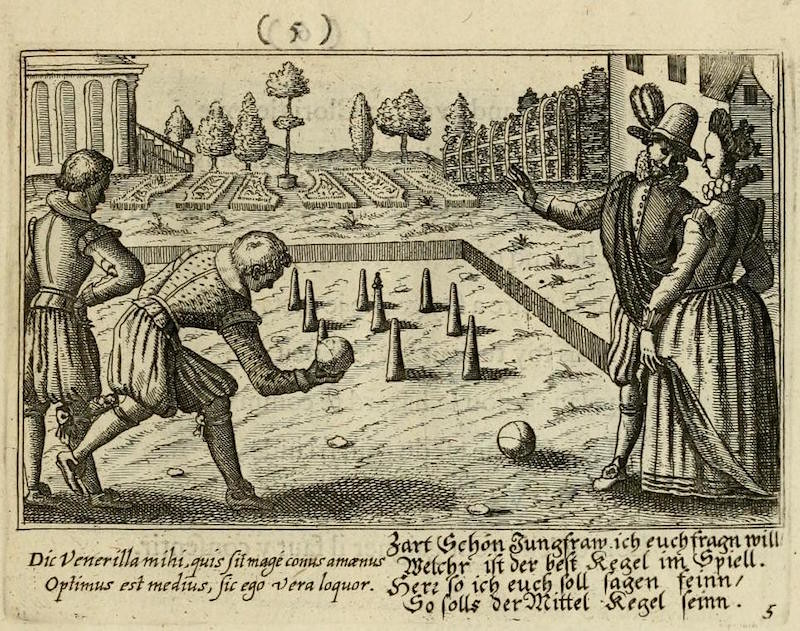 Le Centre de l'Amour (ca  1687) – The Public Domain Review