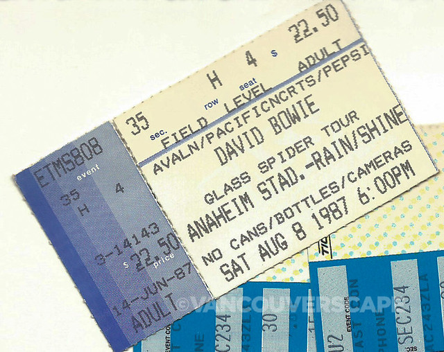 Bowie/Glass Spider Tour