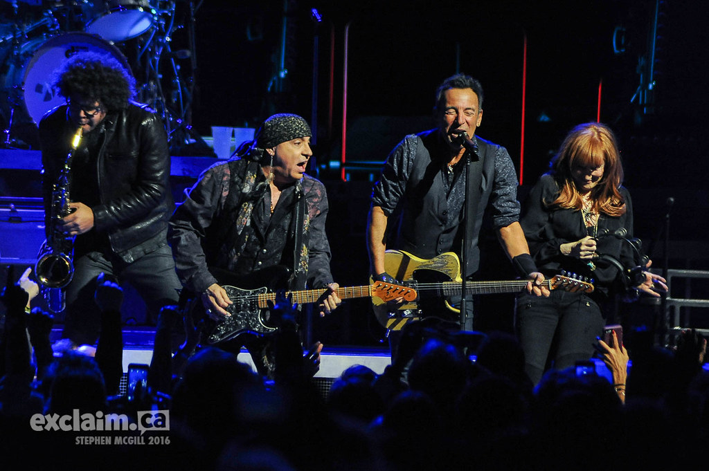 Bruce Springsteen at the Air Canada Centre, Toronto ON, 2016 02 02