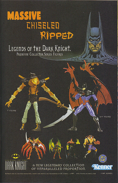 "KENNER:: ""LEGENDS OF THE DARK KNIGHT"".. "" MASSIVE - "" (( 1998 ))"