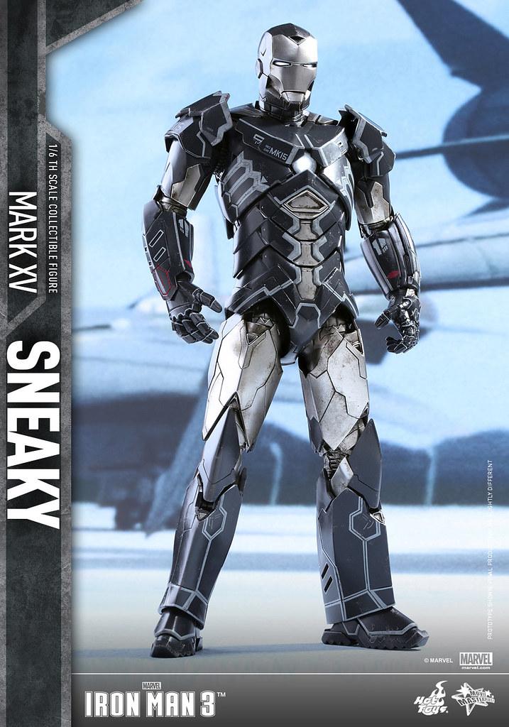 Hot Toys – MMS348 – 鋼鐵人3【馬克15 詭秘】1/6 比例 Mark XV Sneaky
