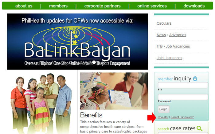 Check Philhealth Contribution Online