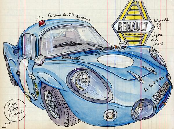 renault alpine M65