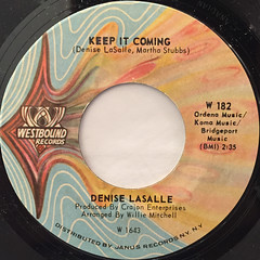 DENISE LASALLE:TRAPPED BY A THING CALLED LOVE(LABEL SIDE-B)