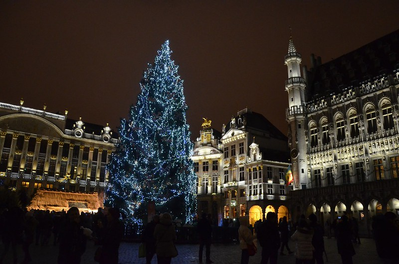 The main square of Brussels for Christmas