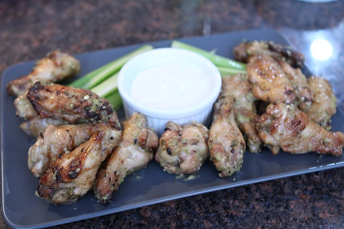 Denver Green Chili Wings