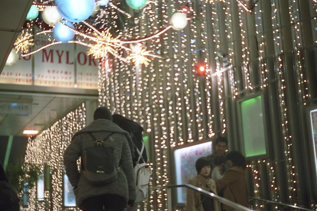 twinkle lights & lives /Shinjuku Terrace City