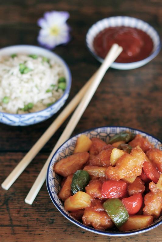 pollo agrodolce cinese