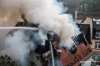 Gebäudebrand Eppstein 10.03.16
