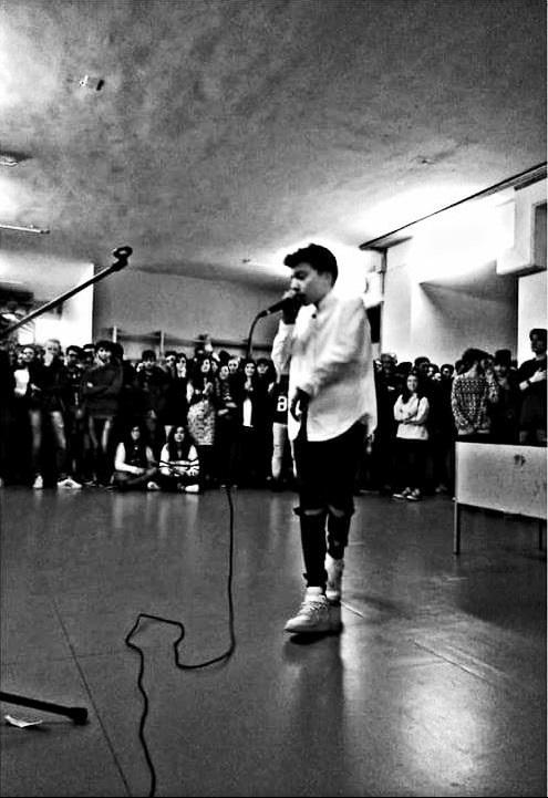 Noicattaro. Rapper Nicola Dituri intero