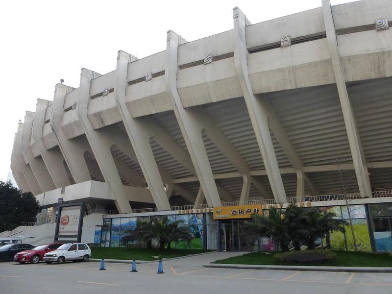 Chengdu Stadium, Chengdu, Sichuan Province, China