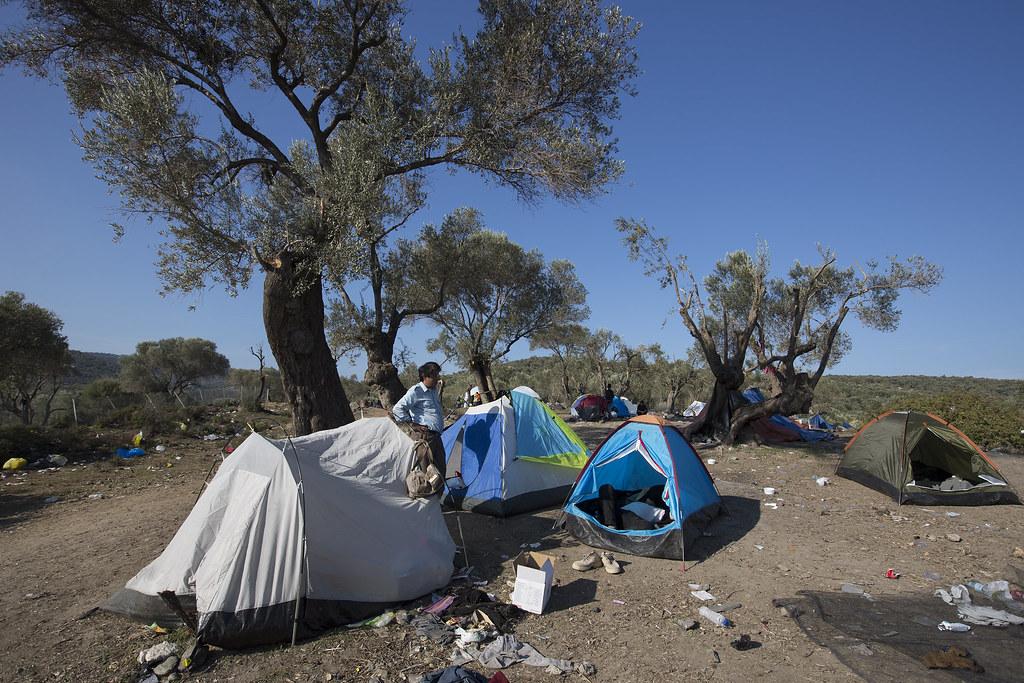 Refugee Camp - Lesvos, Greece