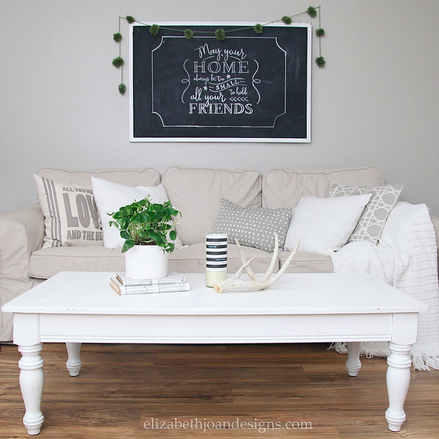 Neutral Coffee Table Couch
