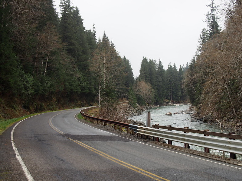 Mountain Loop Highway and South Fork Stillaguamish River