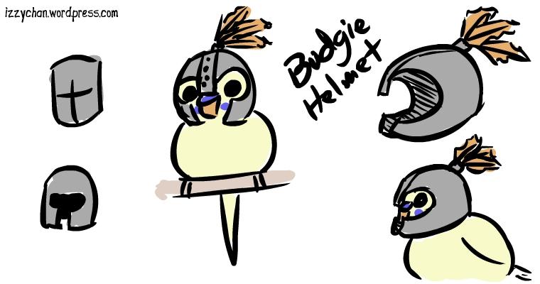 budgie helmet medieval