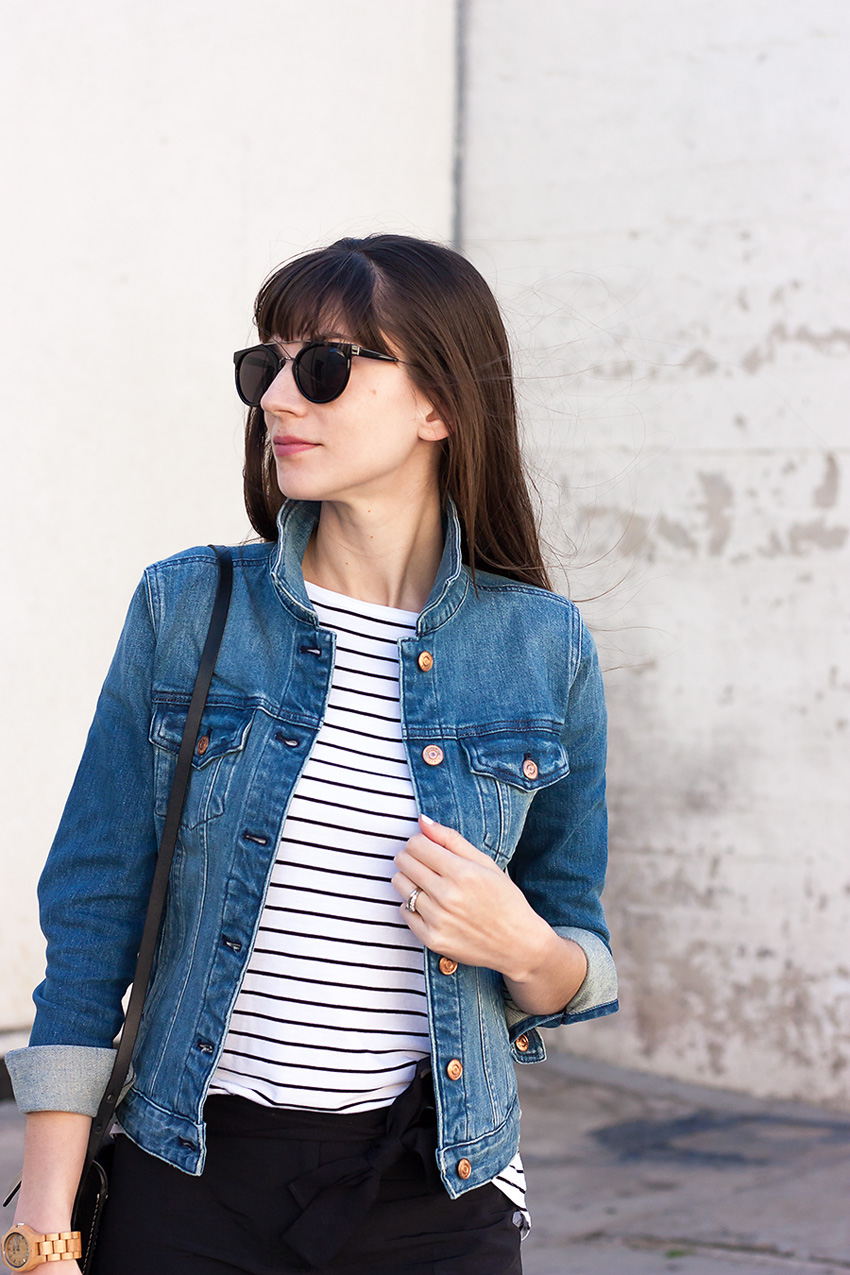 J.Crew Denim, Striped Tee