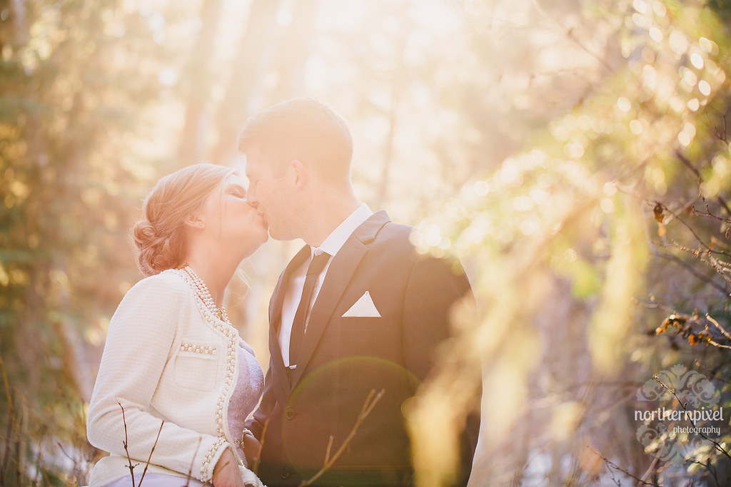 Wedding Sunflare - Prince George BC Wedding Photography Elopement