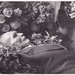 Small photo of Post mortem of an elderly man holding a rosary