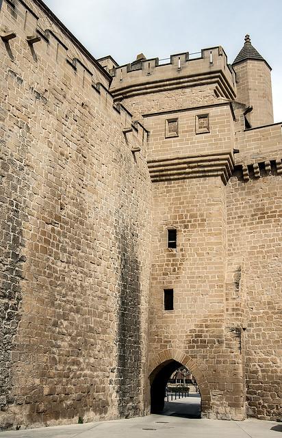 Palacio Real de Olite, Portal de Fenero