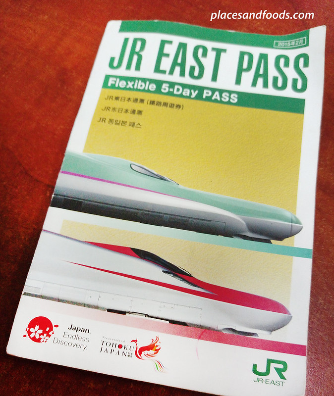 JR east pass front