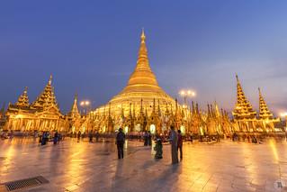 Shwedagon Pagoda [MY]