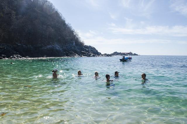 Bahia de la Luna, Playa Zipolite