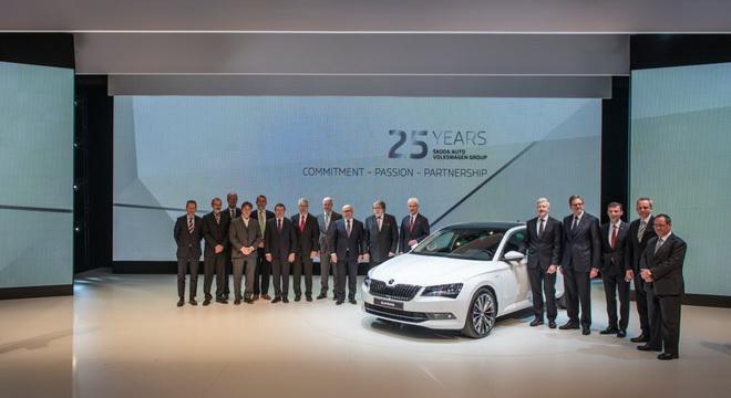 Skoda加入VW集團25週年 各界政商名流齊聚一堂慶祝 (小檔)