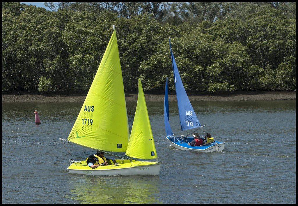 Handicapped children having a sail at Shorncliffe-11=