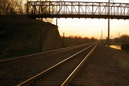 railroad sunrise pacific union cedarrapids