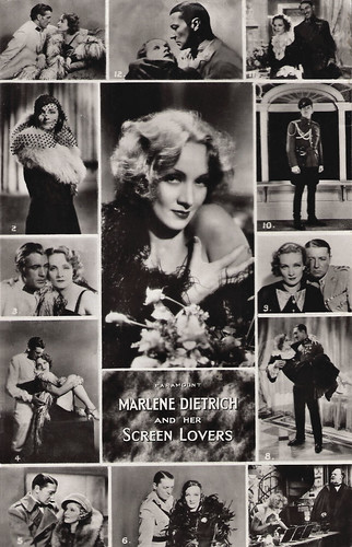Marlene Dietrich and her Screen Lovers