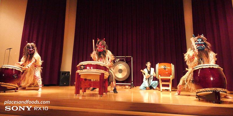 namahage drum performers in oga