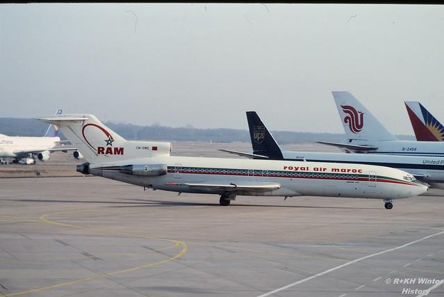 Boeing 727-286    CN-RMO