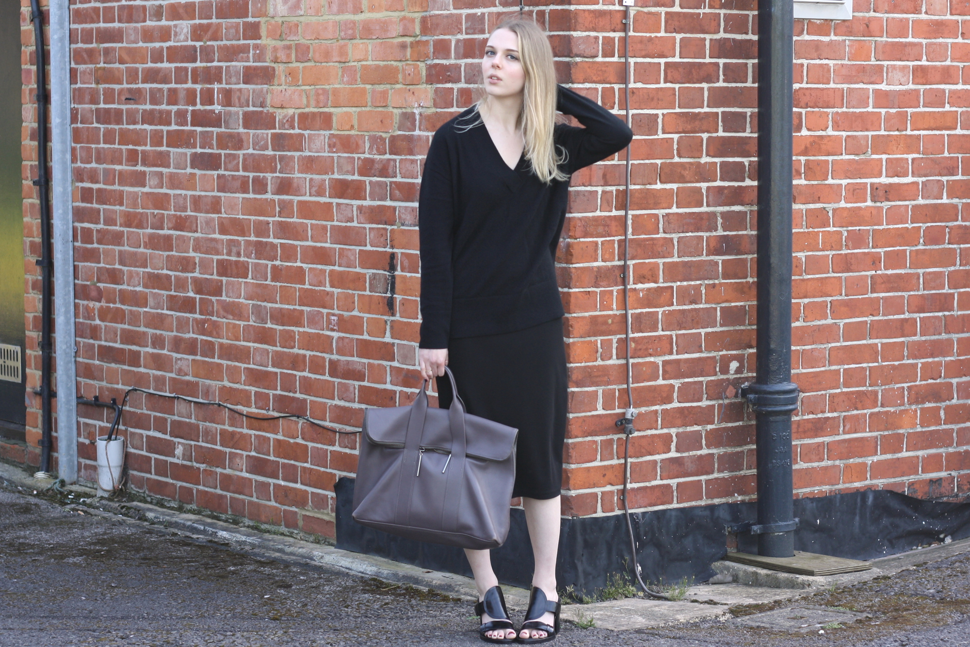 & Other Stories black cashmere jumper