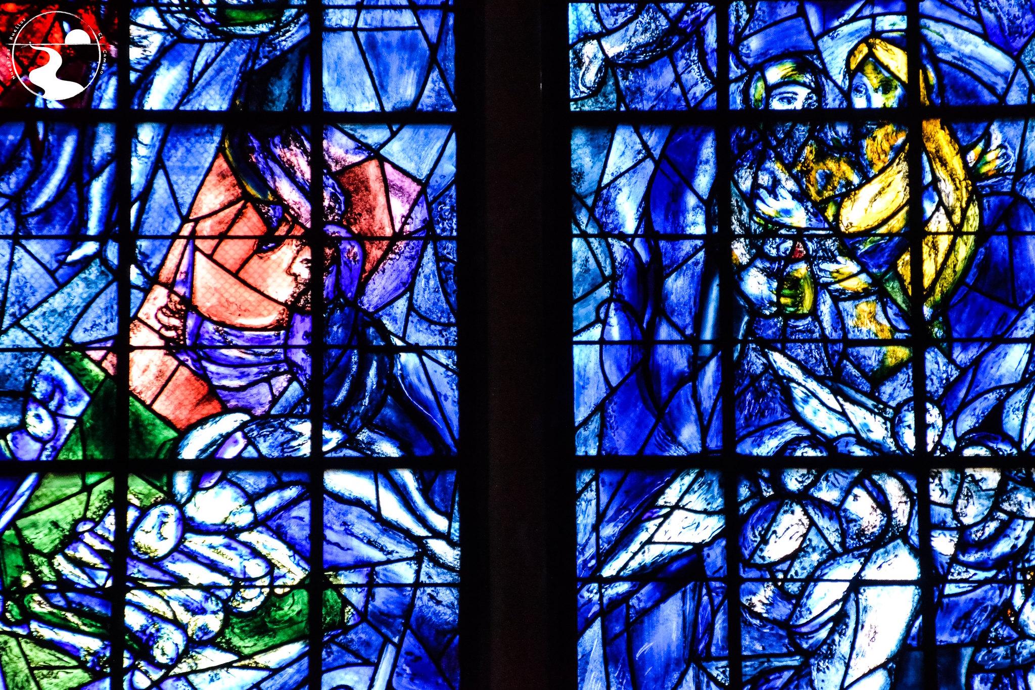 Vidrieras de la catedral de Reims, M. Chagall
