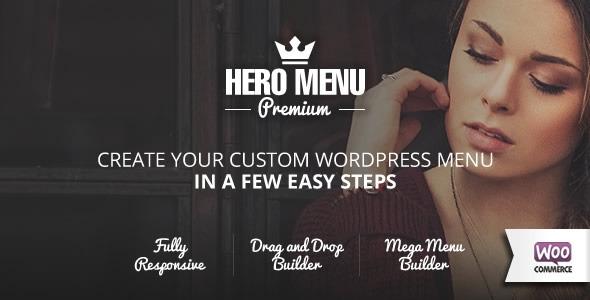 Hero Menu v1.9.0 - Responsive WordPress Mega Menu Plugin