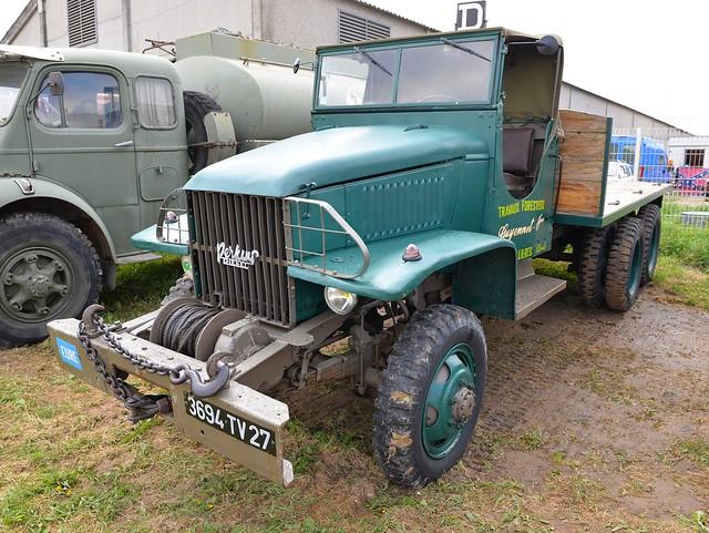 GMC CCKW 353 (Moteur Perkins diesel) Travaux forestiers