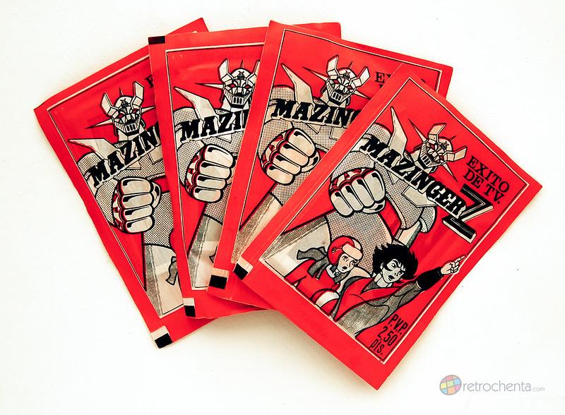 Mazinger Z - Sobres cromos Fher - delantera