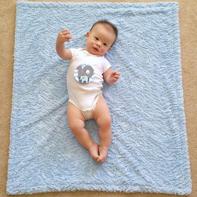 Parker's Ten Month Photo | shirley shirley bo birley Blog