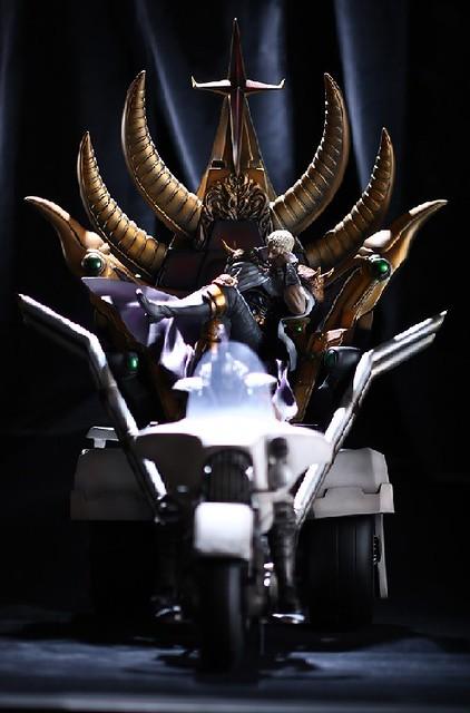 真不愧是南斗六聖拳最強者!「聖帝」沙烏剎 超巨型雕像 價格超驚人!!!