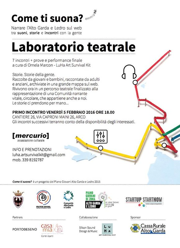Laboratorio Teatrale Come Ti suona?