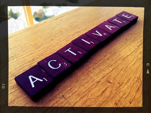 More powerful than resolutions, here is my #oneword for #2016. Chosen bc of its part of speech, leading 3 letters, emphasis on service & support in my current role. Plus it would score a Scrabble bonus too! :)