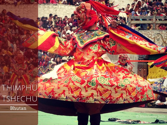 Thimphu Tshechu, Bhutan