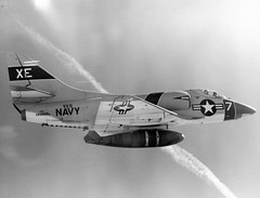 Ray Wagner Collection Image A4D-1 Skyhawk  (to A-4A in 1962)