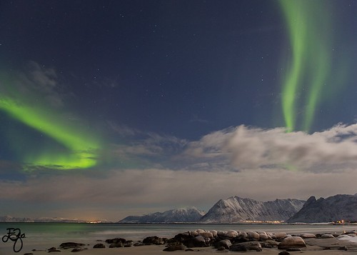 Northernlights in Lofoten