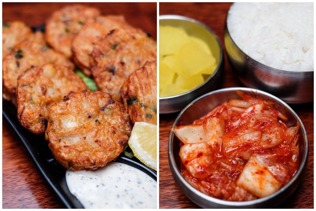 Andong Zzimdak: Pancake Kimchi