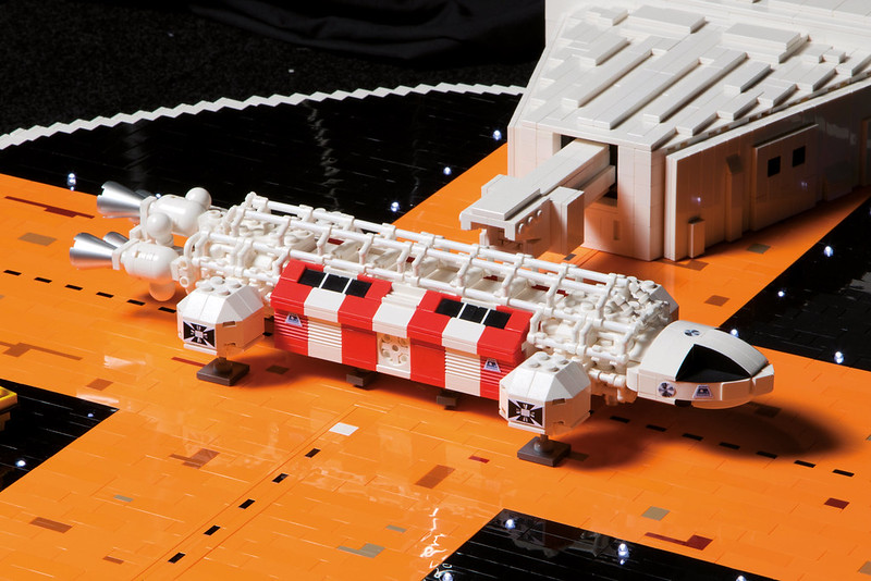 LEGO Space 1999: On pad 4