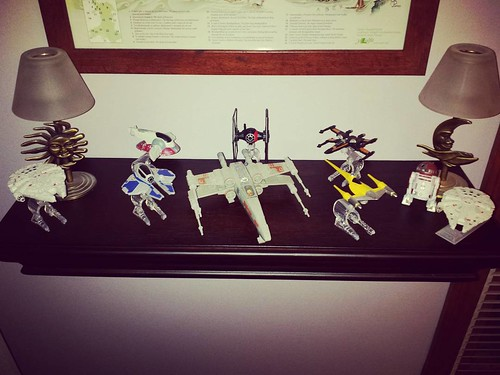 Aren't they pretty! #starwars #SpaceshipsAreAwesome